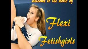 Flexi Nadja spreading pussy (clip)