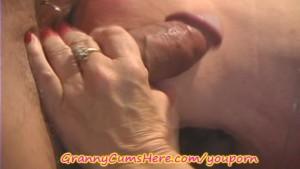 MILF Granny has some CUM FUN