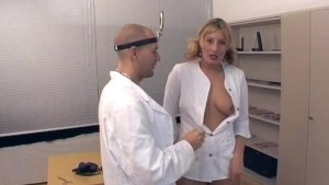 Naughty fun in the doctor's office