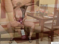 Picture Lonely wife gown grabbing