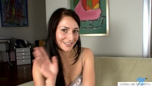 Petite russian rubbing and fingering pussy