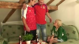 Granny loses a bet and gives u