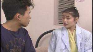 Asian doctor gets horny with her patient
