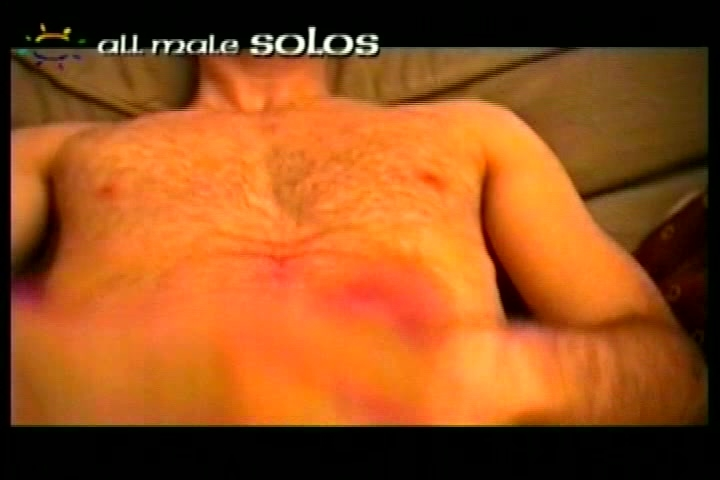 Dude jerks his dick off - All Male Studio