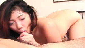 Asian girl moans sweetly durin