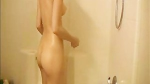 Tiff Love in shower