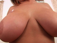 Cute chubby Lola plays with her body