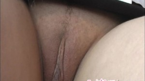 Brunette student masturbates i