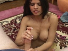 Shy Love gives a hot blowjob
