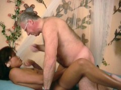 Picture Lucky old guy gets to fuck a black chick