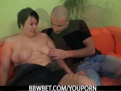 Picture Cute BBW is picked up and fucked