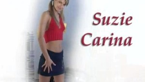 Sexy Suzie Carina works her tight pussy