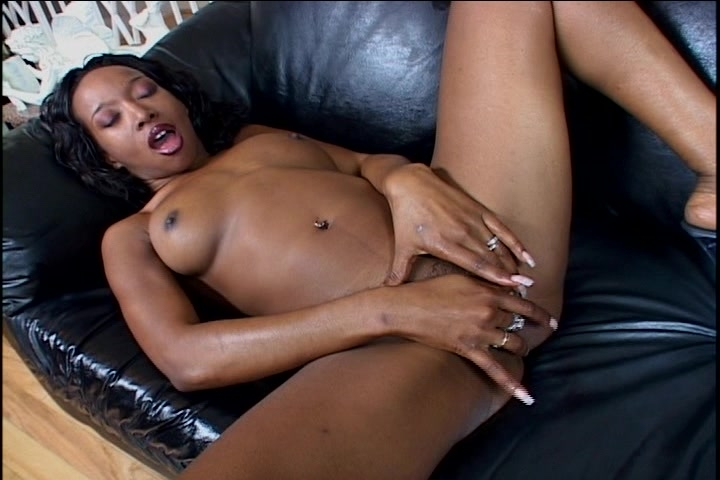 Ebony Solo Orgasm - Demolition