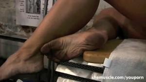 Dirty Gym Feet