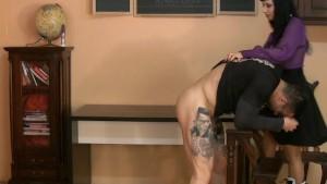 MILF Mistress humiliates guy s
