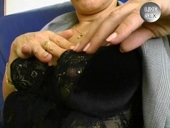 Mature pierced lady showing off - Inferno Productions