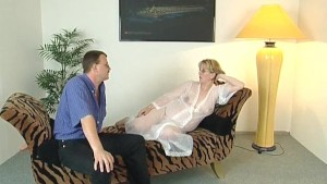 Pregnant girl surrounded by cocks - Inferno Productions