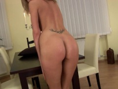 Monica with gold and silver dildos - CzechSuperStars