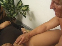 - Chubby blonde gets fuc...