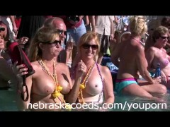 Nudists in a Pool Part 1