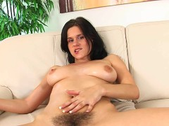 Picture Natural unshaved Victoria solo - CzechSuperS...