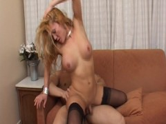Horny Tgirl gets the fuck she deserves - Latin-Hot