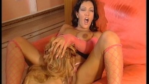 Hot lesbians play with veggies - DBM Video