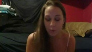Pretty face girlfriend blowjob and fuck