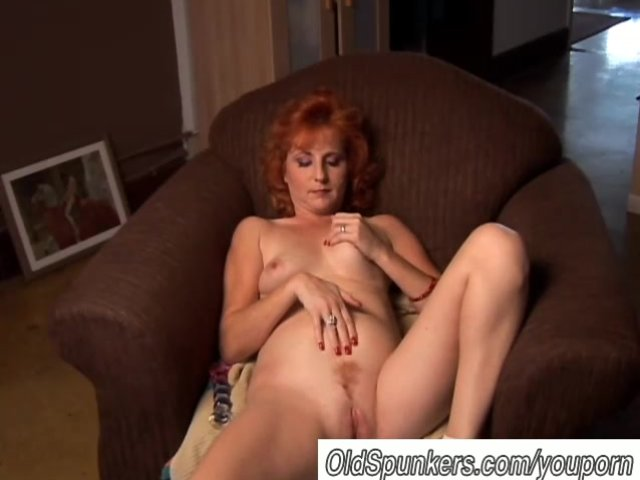 Amateur redhead milf threesome first time 3