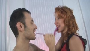 Horniest redhead slut in serious group anal sex!