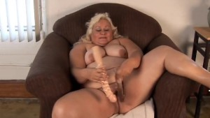 Big tits blonde BBW