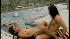 Nyomi Marcela and Nick Manning fucking by the pool - Future Works