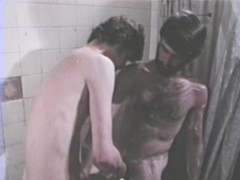 Shower time fun - Classic Bareback Film