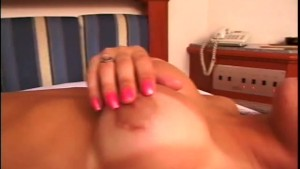 Brazilian tranny gets her ass fucked - Gentlemens Video