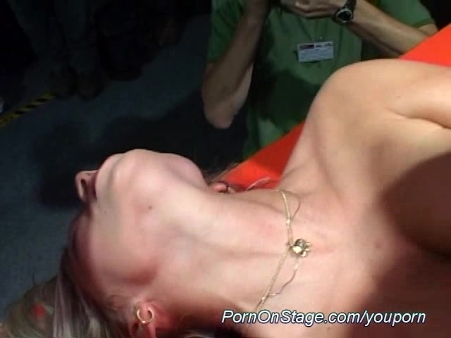 lesbian sex on stage