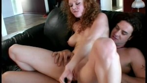 Curly haired ginger hottie gets a HARD fucking - Temptation
