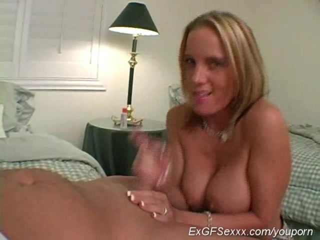 ex girlfriend handjob