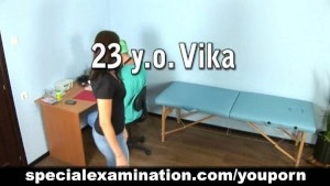 Gyno nude medical examination