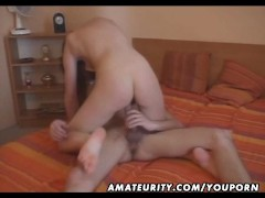 Hot amateur ex girlfriend does it all