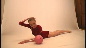 Ballerina Marina posing for Flexiangels