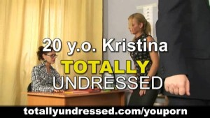 Totally undressed job interview