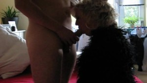 Blonde amateur ExGf sucks and fucks with facial