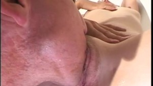 Beautiful blonde licked then fucked - Future Works