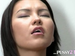 Mongolian coed with ha... preview