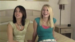Two Ultra Hot Teen Roommates Audition Part 1