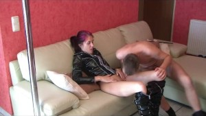Amateur girlfriend lapdance with suck and fuck