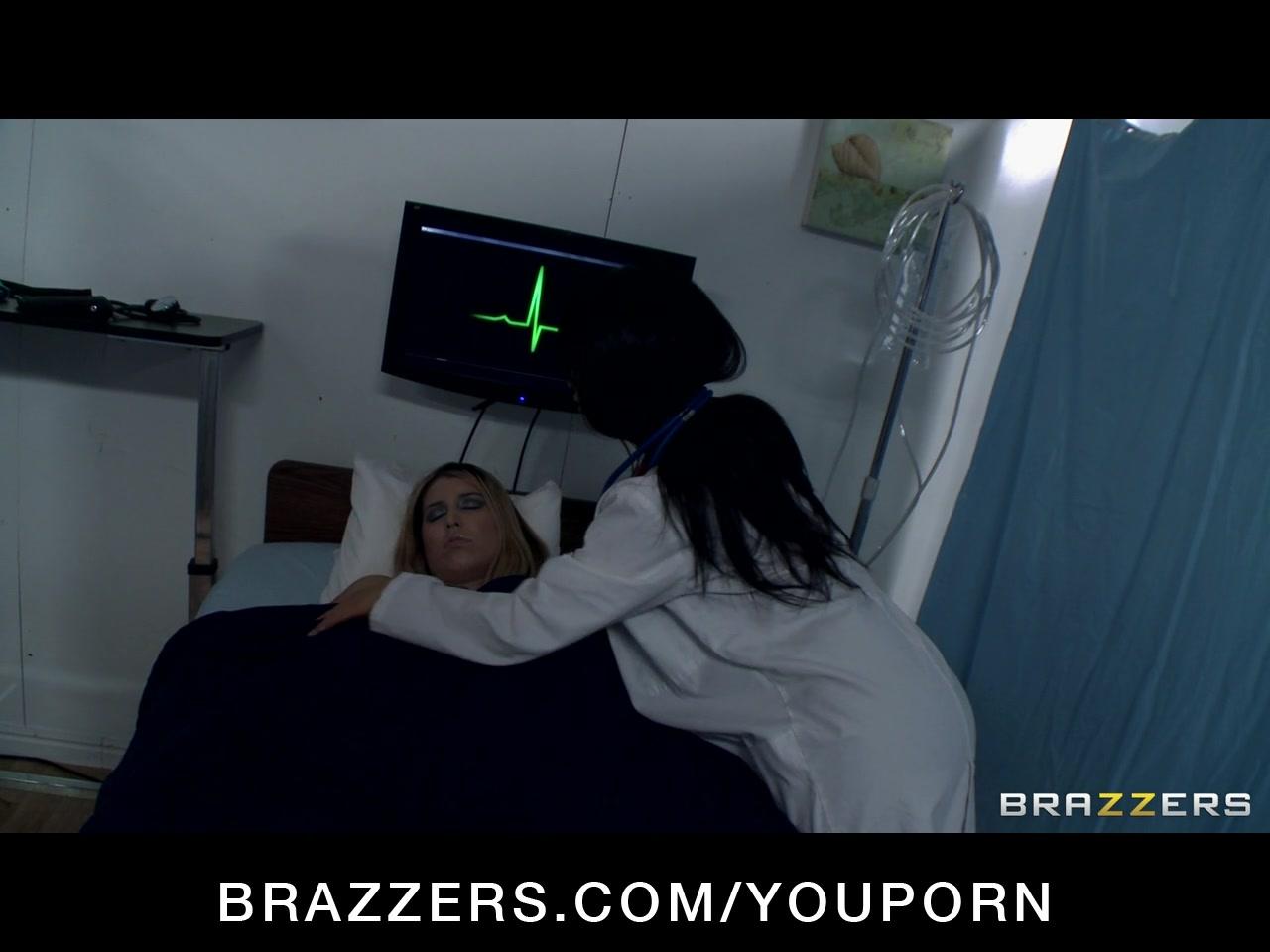 Hot & Horny Asian slut Nurse Asa Akira fucks a patients big dick
