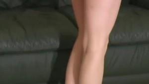 Brea Bennett in soft cotton pink panties