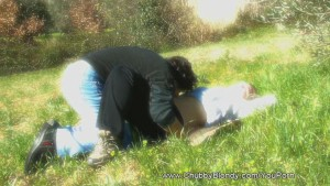 Lovemaking on the Grass
