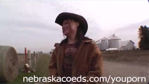Farmer's Daughter Naked Around Cedar Rapids Iowa Part 1